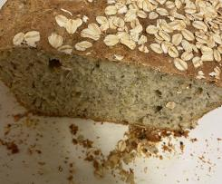 Spelt and Pumpkin seed Bread (lower GI, higher protein, multigrain and seeds)