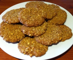 Maple Syrup ANZAC Biscuits