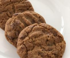 Brown sugar and toffee cookies