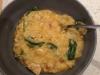Chicken, pesto & spinach risotto