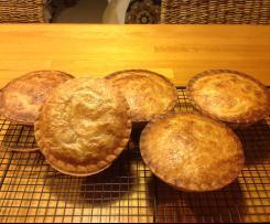 Chicken & Mushroom Pie filling