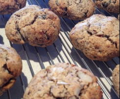 Healthy Paleo Breakfast Cookies