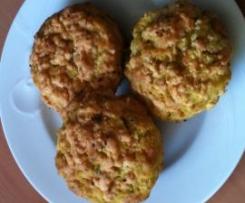 Peppered Zucchini and Leek Muffins