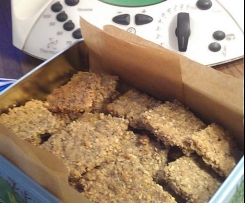 Bernie Brennan's Almond and Seed Crackers
