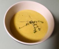 Keto Cauliflower and Zucchini Soup