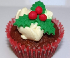 """Its all about Christmas"" Cupcakes"