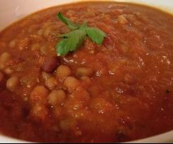 Banging Beans in Tomato Gravy