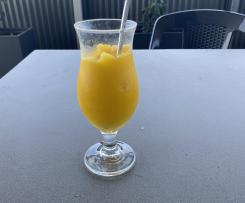 Coconut and Mango Daiquiri ( Mocktail directions also)