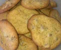 Nana's Delicious Chewy Choc Chip Cookies