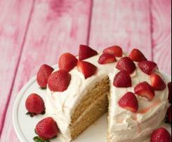Petite Vegan Vanilla Cake