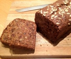 Clone of Sticky Banana, Walnut and Date Loaf - Banana, almond & date