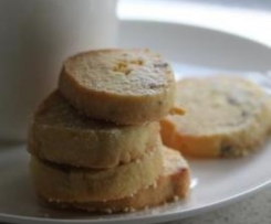 Passionfruit and Lime Shortbread
