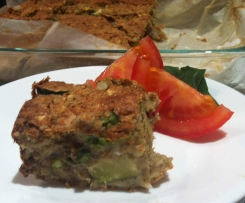 Allergy Friendly Zucchini Slice (Egg-free, gluten-free, dairy-free)