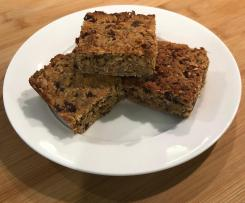 Healthy Lunchbox Fruit and Oat Slice