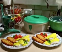 Hoki, with Crab, Turmeric and Tarragon Sauce