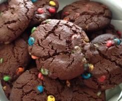 mini M'N'M cookies