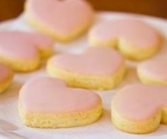 Citrus Valentine's Biscuits