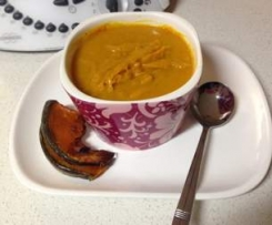 Pumpkin and Leek soup
