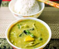 Five Ingredient Thai Green Curry Recipe: