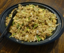 "Easy ""fried"" rice"