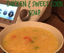 Thermonats cheats chicken & sweet corn soup