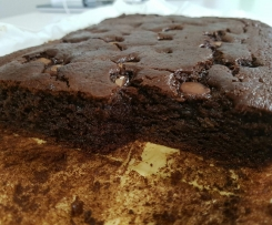 chocolate and sweet potato brownies