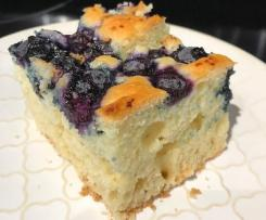 Quick & Easy Blueberry Cake