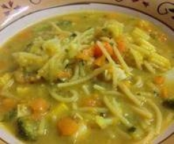 Curried Chicken & Veggie Soup