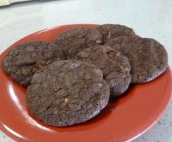 FUDGY CHOCOLATE BISCUITS