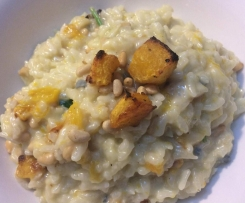 Roast Pumpkin & 3 Cheese Risotto