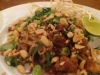 Stir fry Rice Noodles with Chicken and Prawns