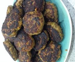 Paleo sweet potato, spinach & bacon turkey patties/burgers