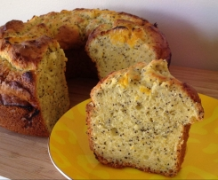 Gluten Free Orange & Poppyseed Cake