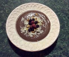 Triple-Choc Blueberry and Zucchini Smoothie Bowl