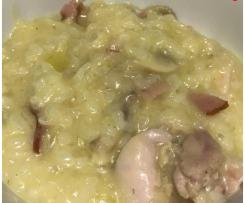 Chicken, Bacon and Mushroom Risotto