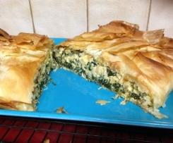 Jamie Oliver's Spinach and Feta Filo Pie