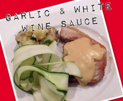 GARLIC & WHITE WINE SAUCE