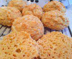 Mini Gluten Free, Yeast Free Cheesey Rolls