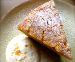 20 Seconds Yoghurt Cake - Gâteau au Yahourt with Caramelized Apple