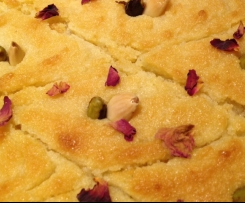 Bambousa with Pistachios and Almonds