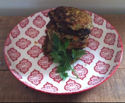 Zuchinni and Carrot Fritters, Paleo/Gaps