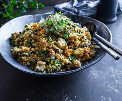 Moroccan cauliflower 'çous cous' salad - Fouad Kassab
