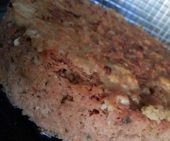 Couscous Crusted Italian Meatloaf (eggfree)