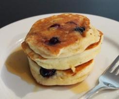 Fluffy Coconut Pancakes - gluten free, grain free, dairy free