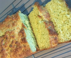 Buttermilk, Cheddar and Chive Bread