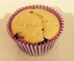 Banana coconut choc chip muffin