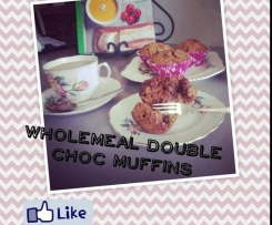 Wholemeal Double Choc Muffins