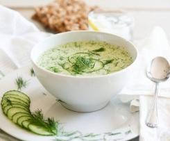 WW 2SP Chilled Cucumber Soup