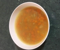 Brodo- chicken broth with noodles