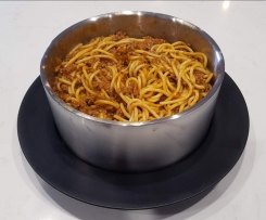 Kid Friendly Spaghetti Bolognese